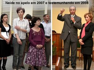 Neide: antes e depois